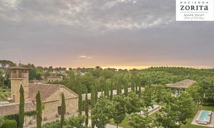 Salamanca: 1 o 2 noches para 2 con desayuno y cata de vino, jacuzzi y/o visita a granja orgánica en Hacienda Zorita 5*
