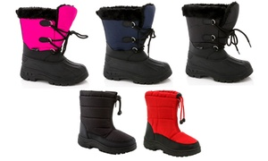 Snow Tec Kids' Snow Boots. Multiple Styles Available