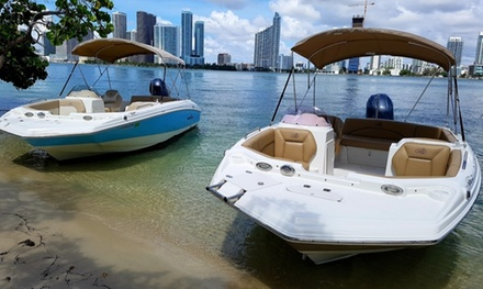 Boat Rentals or Sunset Cruises at Miami Rent Boat (Up to 38% Off). Three Options Available.