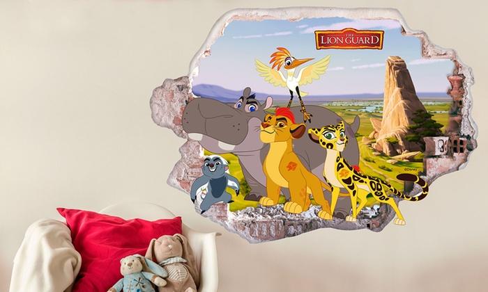 Stickers Cameretta Disney : Adesivi da parete disney il re leone groupon goods