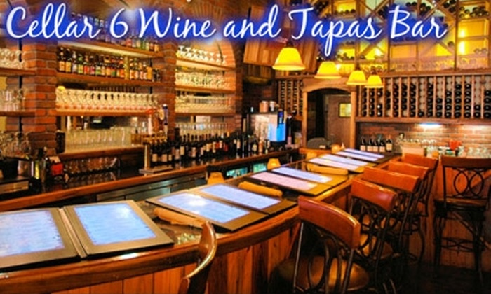 Cellar 6 - Old City: $20 for $40 Worth of Wine, Tapas, and More at Cellar 6 in St. Augustine