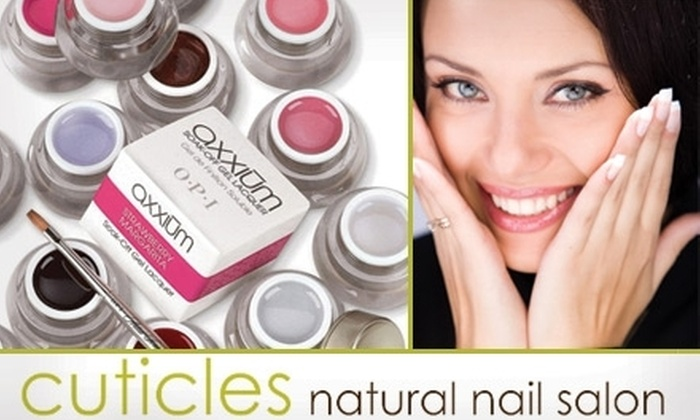 Cuticles Natural Nail Salon - Washington DC: $60 for a Two-Person Manicure or a One-Person Mani-Pedi at the Location of Your Choice by Cuticles Natural Nail Salon (Up to $180 Value)