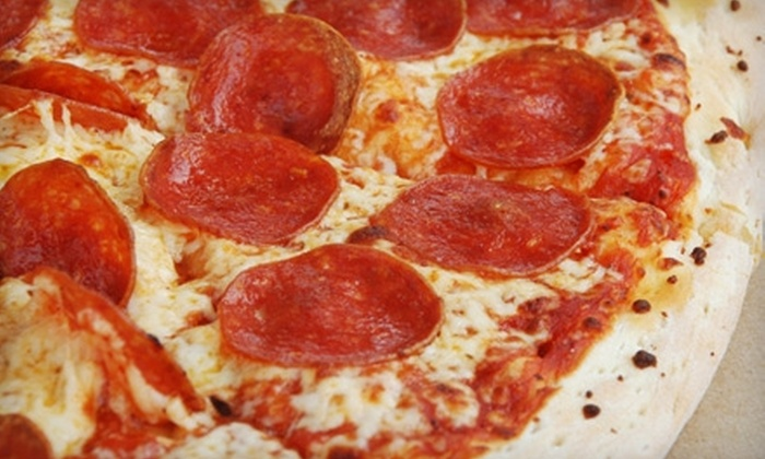 Pizza King  - Charter Square: $5 for $10 Worth of Pizza and More at Pizza King in League City