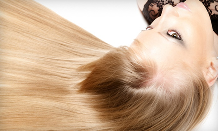 Beyond Salon & Spa - Palmetto Bay: Hair Spa Package or Hair Color Package at Beyond Salon & Spa