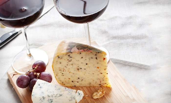 Lemon Tree Grocer - Downers Grove: Wine-and-Cheese Tasting for Two, Four, or Six at Lemon Tree Grocer in Downers Grove (Up to 57% Off)