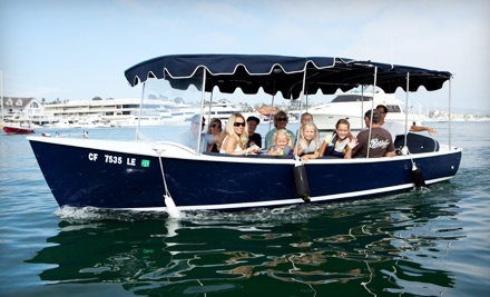 90-Minute Electric Boat Rental Monday-Friday (a $120 value) - Adventures Boat Rentals in Newport Beach