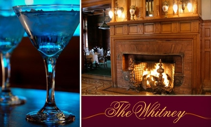 The Whitney - University: $39 for $80 Worth of Upscale American Fare at The Whitney