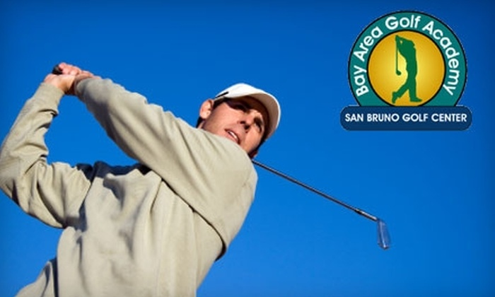 Bay Area Golf Academy - San Bruno: $55 for a One-Hour Golf Lesson at Bay Area Golf Academy in San Bruno (Up to $110 Value)