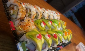 Japan Street Food: Eat-In or Takeaway 28-Piece Sushi Platter for Two at Japan Street Food (Up to 34% Off)