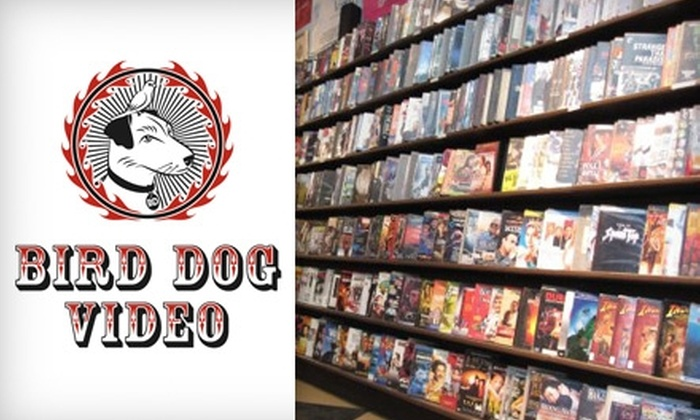Bird Dog Video - Beltline: $3 for $6 Worth of Movie Rentals at Bird Dog Video