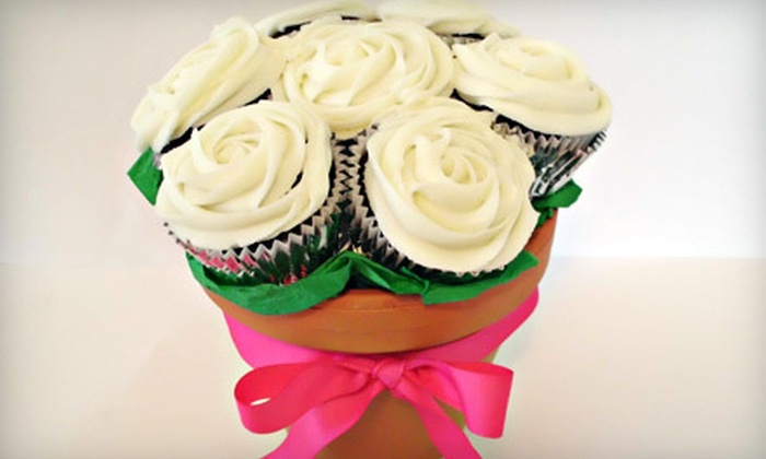 Sweet Mellisa's Cupcakes - Alger Heights: $35 for a Chocolate-Cupcake Bouquet at Sweet Mellisa's Cupcakes ($70 Value)