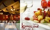 Kamasutra Indian Restaurant & Wine Bar - Davisville: $15 for $30 Worth of Indian Fare and Drinks at Kamasutra Indian Restaurant & Wine Bar
