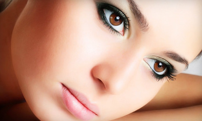 Blush Permanent Makeup - Keeling: Permanent Makeup for Eyelids or Eyebrows at Blush Permanent Makeup (Up to 72% Off). Three Options Available.