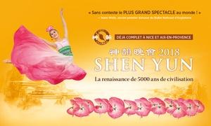 Lotus Sacré, producteur de Shen Yun en France: 1 place en catégorie 2 pour le spectacle Shen Yun, 5 représentations au choix, à 69 € au Palais des Congrès de Paris