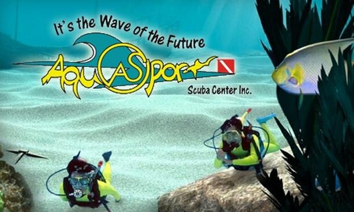 Aqua Sport Scuba Center Inc. - Altadore: $20 for a Discover Scuba Class at Aqua Sport Scuba Center Inc.