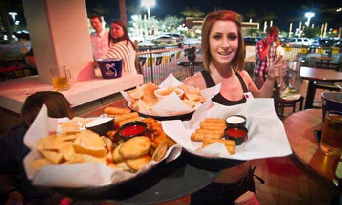 Cactus Moon Sports Grill - Green Acres Park: $20 Worth of Food and Drinks or Three-Course Meal and Drinks for Two at Cactus Moon Sports Grill in Mesa (Up to 63% Off)