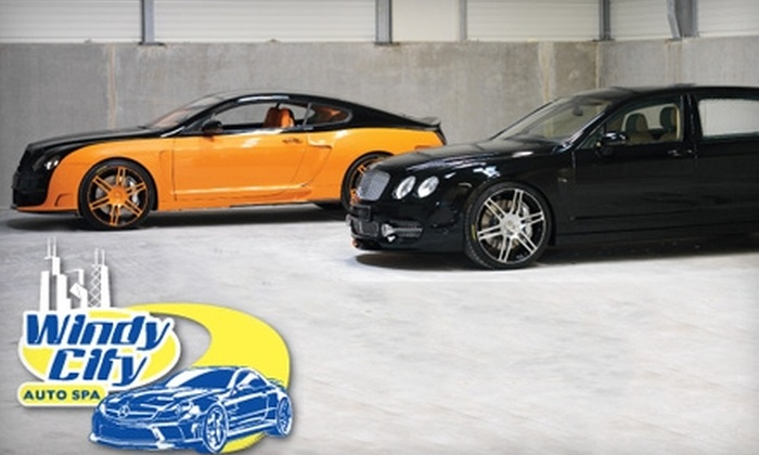 Windy City Auto Spa - Melrose Park: $10 for a Deluxe Car Wash at Windy City Auto Spa