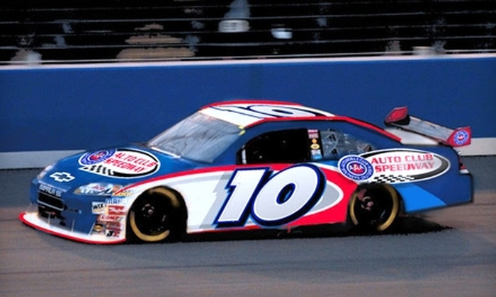 Auto Club Speedway - Los Angeles: $47 for One Ticket to the Auto Club 400 NASCAR Race in Fontana ($95 Value)