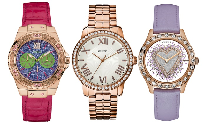 Guess Women's Watch in Choice of Model With Free Delivery