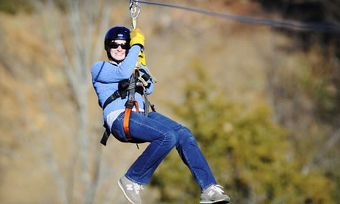 Wahoo Ziplines - Sevierville: $45 for Zipline Adventure from Wahoo Ziplines ($89 Value)