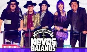 Oceania: Show de Novos Baianos – EXPO D. PEDRO: ingresso para 1, 2 ou 4 pessoas