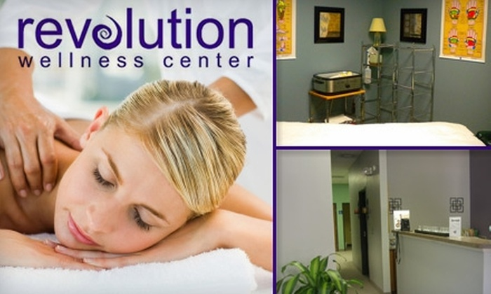 Revolution Wellness Center - Utica: $25 for a One-Hour Swedish or Deep-Tissue Massage at Revolution Wellness Center ($60 Value)