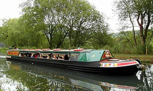 Birdswood Canal Boat: Two-Hour Canal Trip and Hot Drink Each for Two or Family of Four with Birdswood Canal Boat (Up to 22% Off)