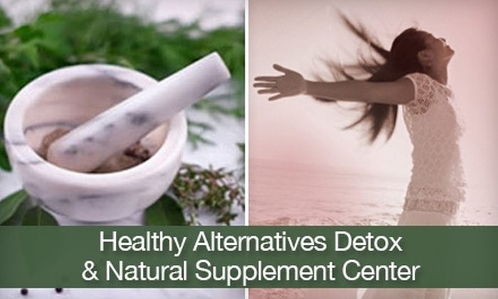 Healthy Alternatives Detox & Natural Supplement Center  - Gresham - City Central: $40 for a Consultation, Detox Foot Spa Treatment, and Infrared-Sauna Treatment at Healthy Alternatives Detox & Natural Supplement Center