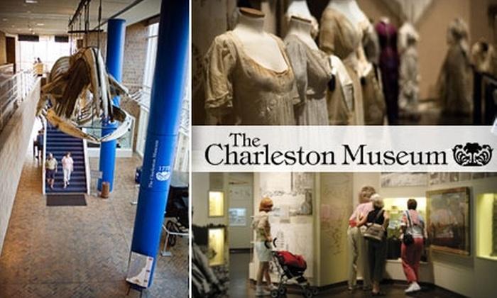 Charleston Museum - Charleston: One-Year Membership to the Charleston Museum. Choose from Three Options.