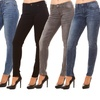 Red Jeans Women's Faded-Denim Jeans