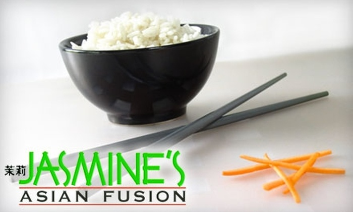 Jasmine's Asian Fusion - Webster: $15 for $30 Worth of Asian Cuisine at Jasmine's Asian Fusion in Webster
