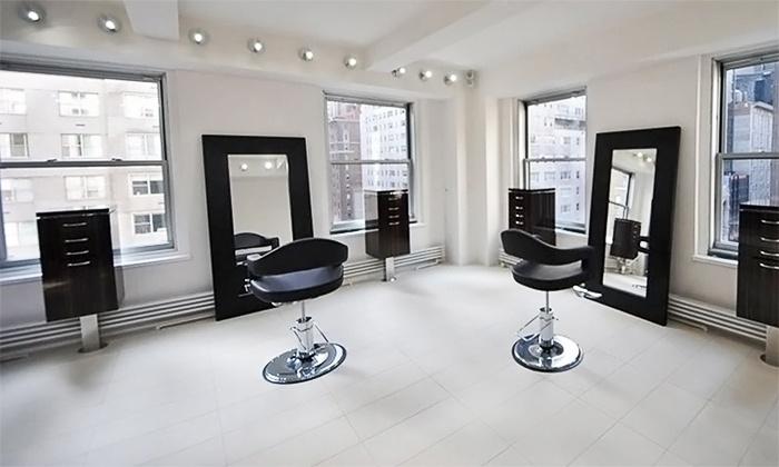 Gabriel Shimunov Hair Salon - Multiple Locations: Two or Four Custom Spray Tans at Gabriel Shimunov Hair Salon (68% Off)