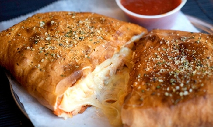 D.P. Dough - Troy: $5 for $10 Worth of Calzones and Classic American Fare at D.P. Dough