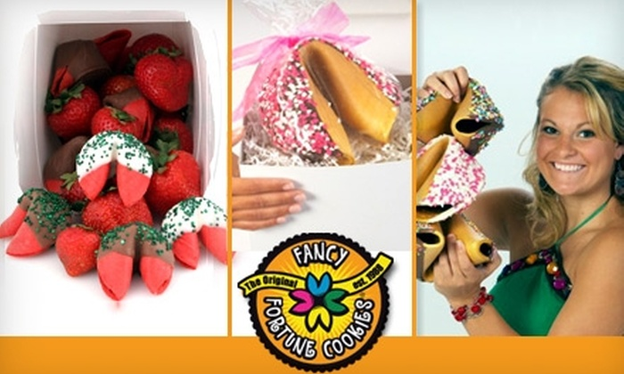 Fancy Fortune Cookies - Las Vegas: $20 for $50 Worth of Fortune Cookies and Personalized Gifts at Fancy Fortune Cookies