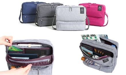 One, Two, or Four Multi Compartment Travel Bags from AED 59