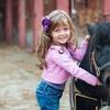 Balade à poney avec visite d'une ferme pédagogique