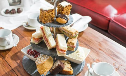 image for Afternoon Tea for Two or Four at The Manor Hotel (Up to 29% Off)