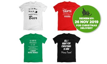 Personalised Christmas T-Shirts
