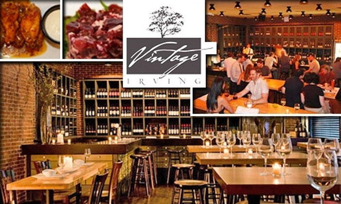 null - New York City: $50 for a Wine, Meat, and Cheese Tasting at Vintage Irving