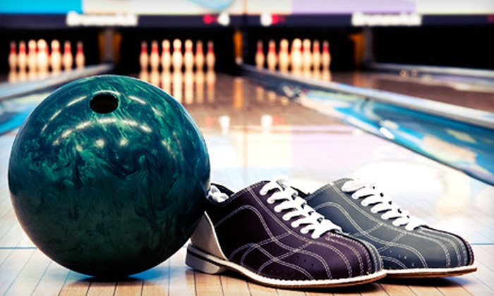 Capitol Bowl - Downtown West Sacramento: Bowling Packages with Shoe Rental and Pizza at Capitol Bowl in West Sacramento (Up to 57% Off). Three Options Available.