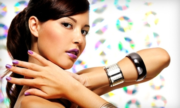 Parisian Nail Spa - Jacksonville : $40 for a Shellac Manicure and Pedicure at Parisian Nail Spa ($85 Value)