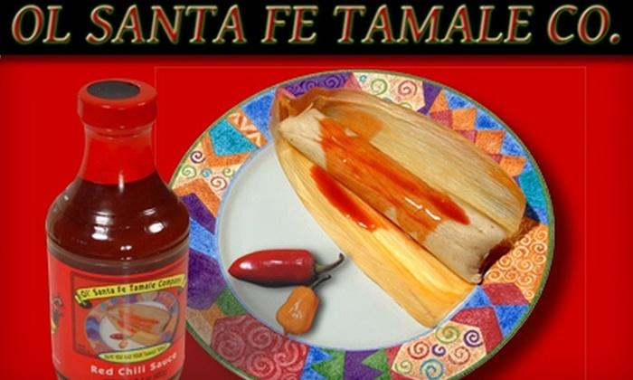 Ol' Santa Fe Tamale Co. - Quail Run: $7 for Six Jumbo Pork or Chicken Tamales at Ol' Santa Fe Tamale Co. in Broken Arrow ($13.80 Value)