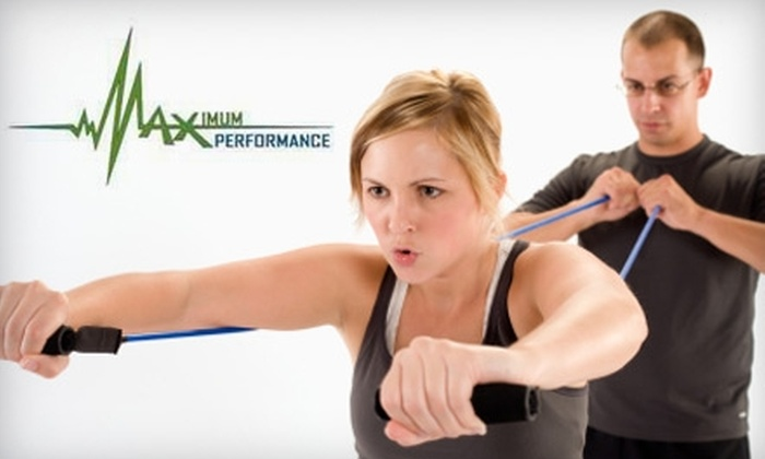 Maximum Performance Training - Downtown Rockford: $75 for 16 Boot-Camp Fitness Sessions at Maximum Performance Training ($159.95 Value)