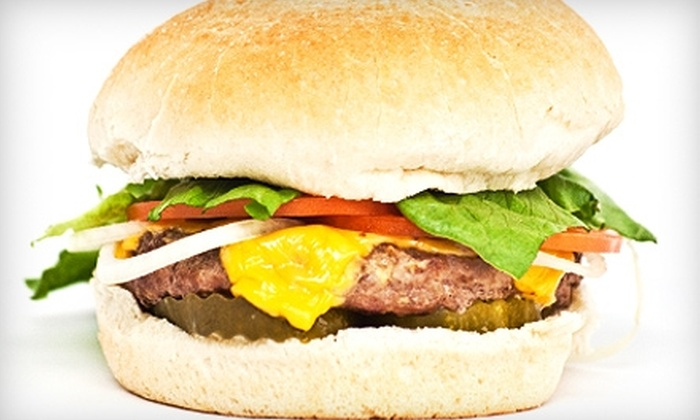 The Burger Joint - Eastwood: $10 for $20 Worth of Burgers, Sandwiches, and More at The Burger Joint