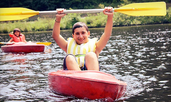 Greenwood Trails Camp - Winchester: One- or Two-Week All-Inclusive Summer Camp for Kids at Greenwood Trails Camp in Winsted (Up to 51% Off)