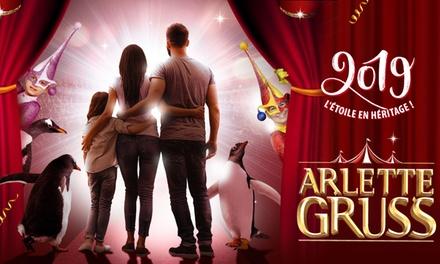 1 place, dates et catégories au choix, pour la Tournée 2019 Arlette Gruss visite du village incluse dès 10 € à Bordeaux
