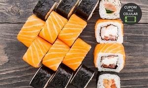Hino Sushi Bar: Hino Sushi Bar – Centro:rodízio japonês para 1 ou 2 pessoas
