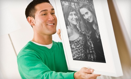 $100 Groupon for Complete Custom Framing at Eaze Custom Framing - Eaze Custom Framing in Nashville