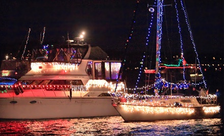 3-Hour Paddle-Wheel Holiday Lights Cruise on December 10, From 6:30PM-9:30PM ($79 Value) - Queen of Seattle Paddle Wheel Cruises in