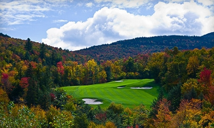 Sunday River Golf Club - Newry: $79 for 18 Holes of Golf, Unlimited Practice Facility Usage, and Lunch at Sunday River Golf Club in Newry (Up to $165 Value)